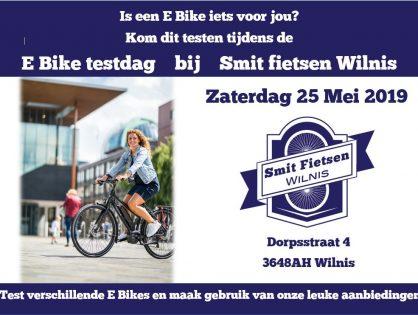 25 Mei E Bike testdag