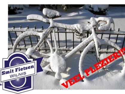 Wij wensen jullie veel plezier met alle sneeuw en ijs